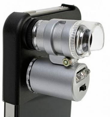 iphone 4 microscopio 60x