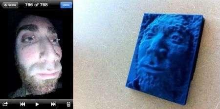 iPhone app: scansione del volto per stampare una maschera 3D!