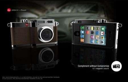 Accessori iPhone: Concept Leica i9 Case