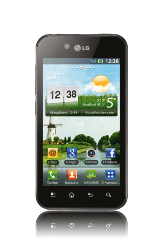 lg optimus black android touch
