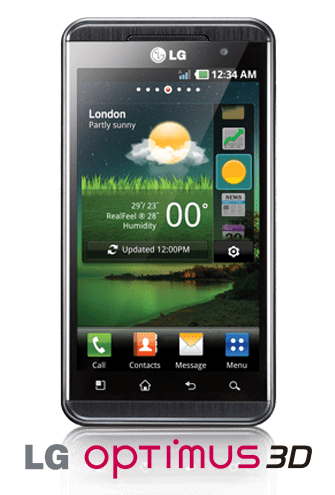 lg smartphone android lg optimus 3d