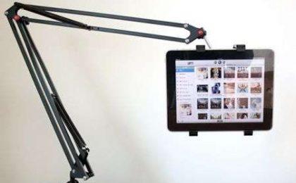 Tablet PC: l'accessorio indispensabile è il braccio da scrivania