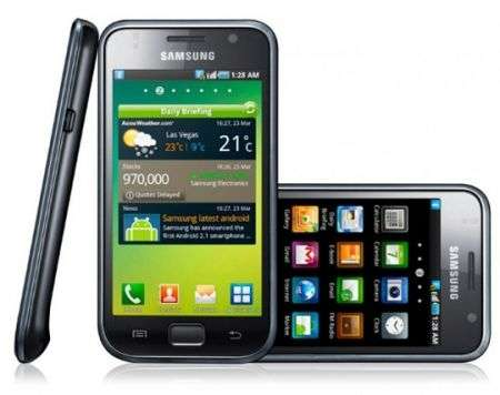 Samsung Galaxy S: Android 2.3 Gingerbread è disponibile