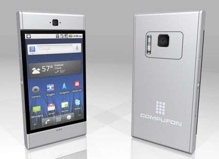Smartphone Android Compufon con Honeycomb, si trasforma in tablet