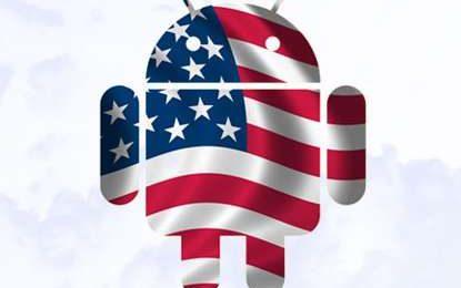 Smartphone Android in tasca a un americano su tre