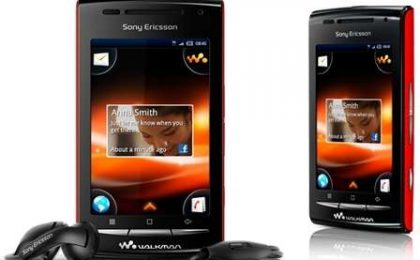 Smartphone Sony Ericsson W8: il primo Walkman Android!