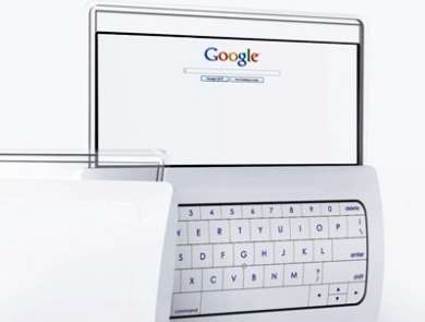 Tablet Android marchiato Google con doppio touchscreen trasparente