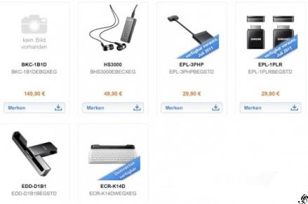 Samsung Galaxy Tab 10.1 svela il prezzo (alto) degli accessori ufficiali