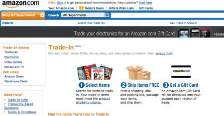Ora l'Amazon Store compra e rivende l'elettronica usata