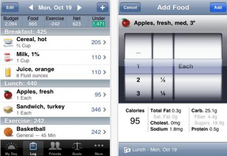 App iPhone Lose It per dimagrire facilmente