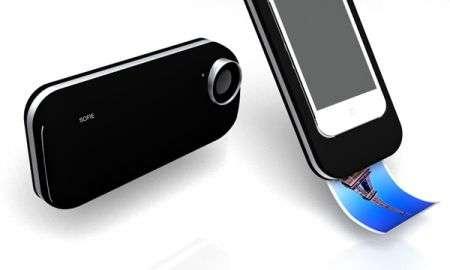 Custodia iPhone che stampa anche foto stile Polaroid