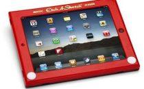 Accessori iPad: Custodia a lavagnetta magnetica retro-chic