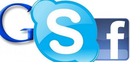 Google vs Facebook per assicurarsi Skype?