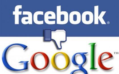 Google vs Facebook: il social network si arrampica sugli specchi