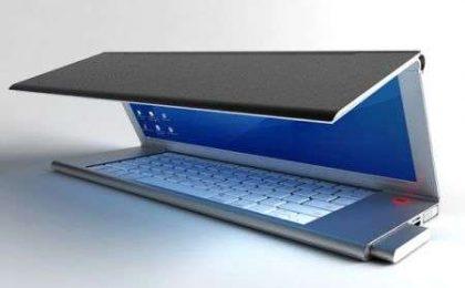 Concept: PC portatile con schermo OLED pieghevole