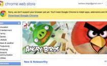 Google Chrome Web Store: tante app da scaricare, cè pure Angry Birds!