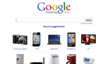 Google Shopping: aggregatore di offerte online, in italiano