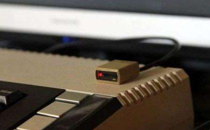 """MicroSD Reader """"Atari"""" realizzato con una stampante 3D"""