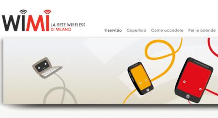 Wifi a Milano con WiMi per Internet senza fili, gratis