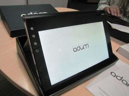 Tablet Notion Ink Adam pronto per Android 2.3 Gingerbread