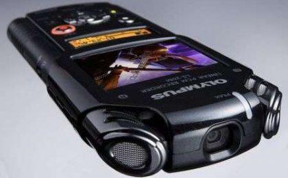 Videocamera HD: Olympus LS-20M camera tascabile