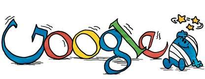 Google Doodle festeggia Roger Hargreaves, ecco i loghi!