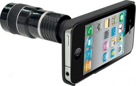 iPhone 4: ottica Rollei con zoom 8x