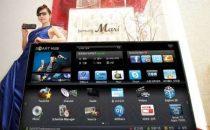 TV Samsung D9500: 75 pollici di Smart TV con 3D