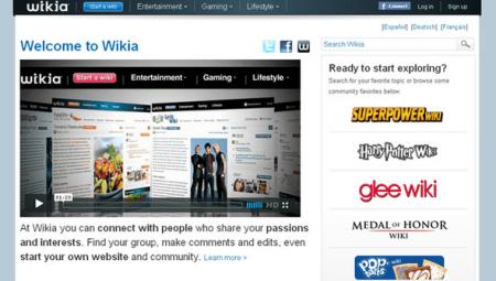 Enciclopedia online Wikia: una Wikipedia in salsa pop