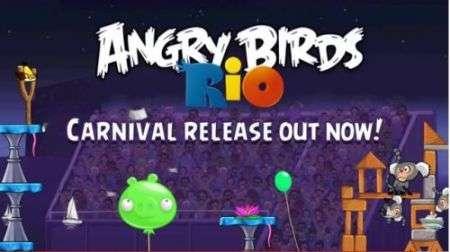Angry Birds Rio Carnival: ecco l'ultimo imperdibile capitolo della saga