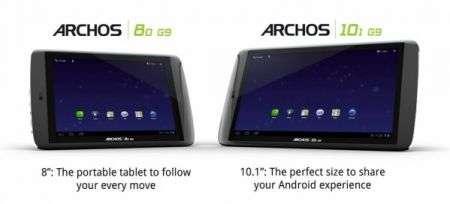Archos 80 e 101: i tablet Android più potenti al mondo con un prezzo super