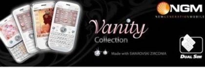 I cellulari dual sim NGM Vanity si dedicano al pubblico femminile