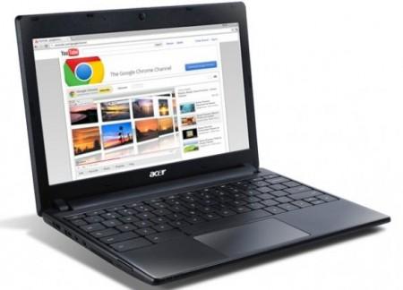 Il Chromebook Acer AC700 svela la semplice scheda tecnica