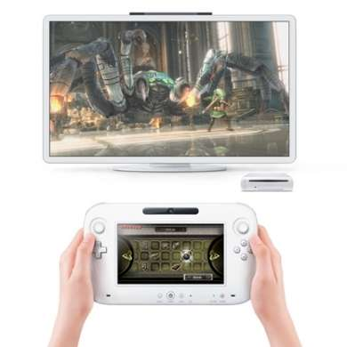 Nintendo Wii U svela il gigantesco e potente controller