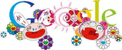 Google Doodle festeggia il Solstizio d'Estate con Takashi Murakami