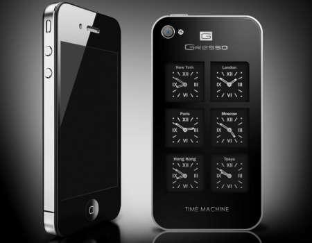 Da Gresso un iPhone 4 con sei orologi svizzeri incastonati!