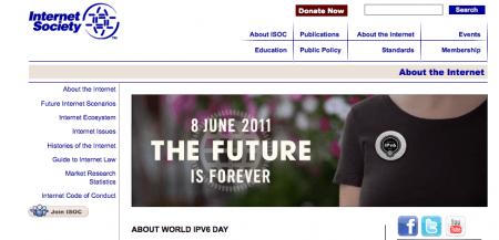 Oggi è il World IPv6 Day, per testare il nuovo salvifico protocollo