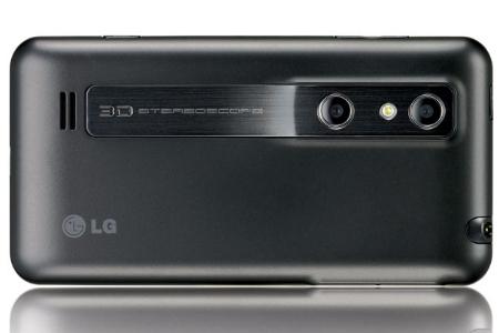 lg Optimus 3D fotocamere