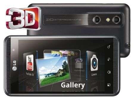 Scopri tutte le novità sull'LG Optimus 3D