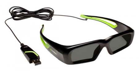 Occhialini 3D Nvidia con cavo? Una scelta discutibile