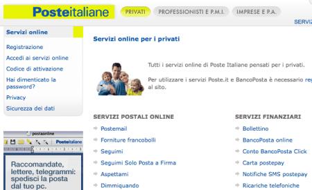 """Poste Italiane Online: """"dovequando"""" e tutti gli utili servizi"""