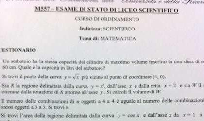 Maturità 2011: seconda prova, le tracce ufficiali di Matematica, Economia Aziendale, Informatica, Elettronica e le altre