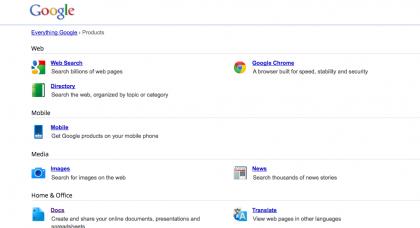 Google e i suoi siti visitati da una persona su sette al mondo, a maggio!