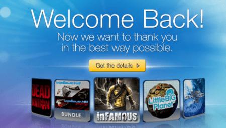 Playstation Network ritorna, ecco come risolvere l'errore del Welcome Back