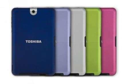 Il tablet Toshiba Thrive conquista l'attenzione con colore e potenza