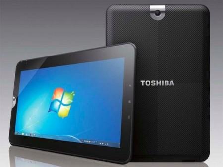 Il potente tablet Toshiba con Windows 7 non si fa mancare niente