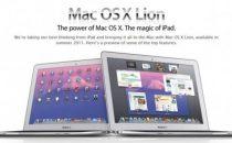 Apple svelerà Mac OS X Lion e il nuovo Macbook Air domani?