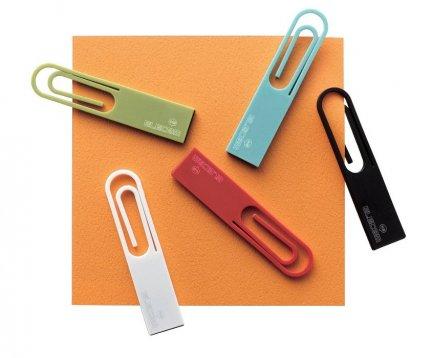 La chiavetta USB mascherata da graffetta, da Elecom!