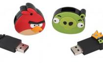 Le chiavette USB di Angry Birds, per il giocatore incallito!