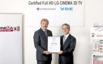 I TV CINEMA 3D di LG ora certificati Full HD, è ufficiale